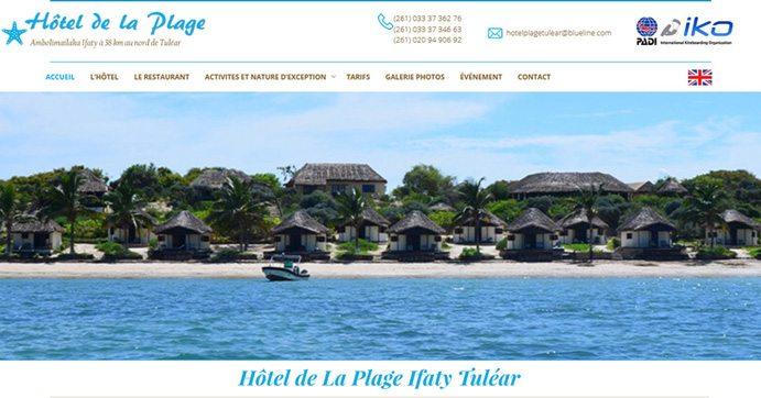 Hôtel de la plage à Ifaty - Tuléar
