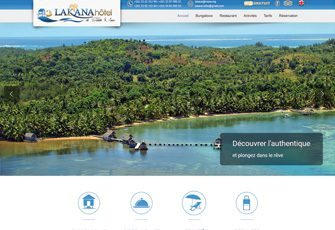 L' Hôtel Lakana à Sainte-Marie – Madagascar