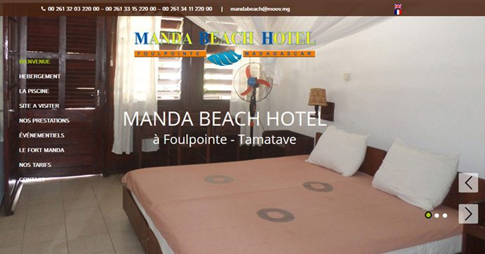 Manda Beach Hotel – FOULPOINTE – TAMATAVE