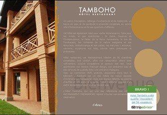 Tamboho Hôtel pour vos séjours d'affaires et de vacances à Madagascar
