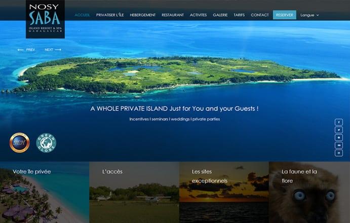 Nosy Saba Island Resort & Spa - Ecolodge luxe Madagascar