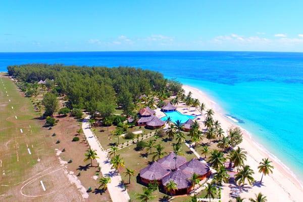 Vue de haut - Nosy Saba Island Resort & Spa - Ecolodge luxe Madagascar